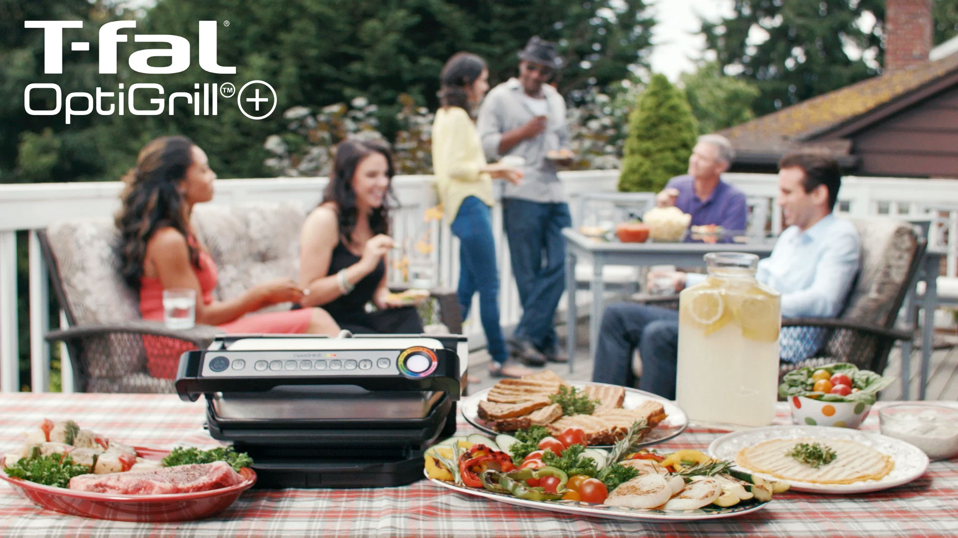 Screen shot from T-Fal Optigrill commercial by Envision Response